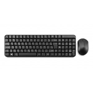 TECLADO & MOUSE SEM FIO MULTIMIDIA SLIM TC183 2.4 GHZ PRETO - MULTILASER